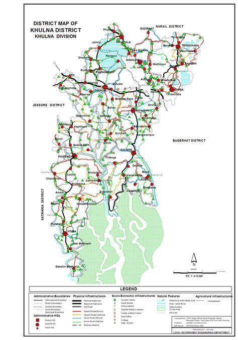map of khulna city khulna price level salaries wealth inhabitants size