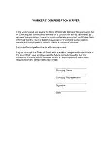 Insurance Exclusion Letter Best Photos Of Arizona Workers Compensation Waiver Form Workers Compensation Waiver