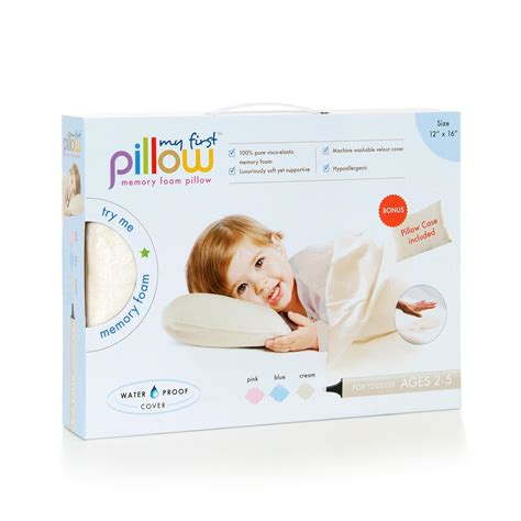 Best Pillow For Toddler by Pillow Memory Foam Toddler Pillow