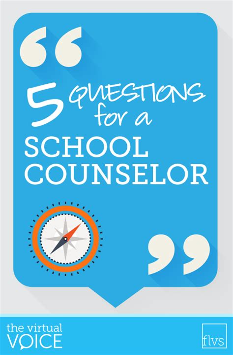 school counselor questions counseling the voice