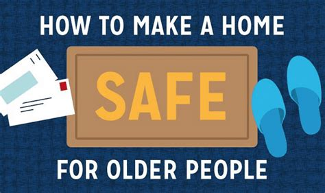 how to make a home safe for infographic