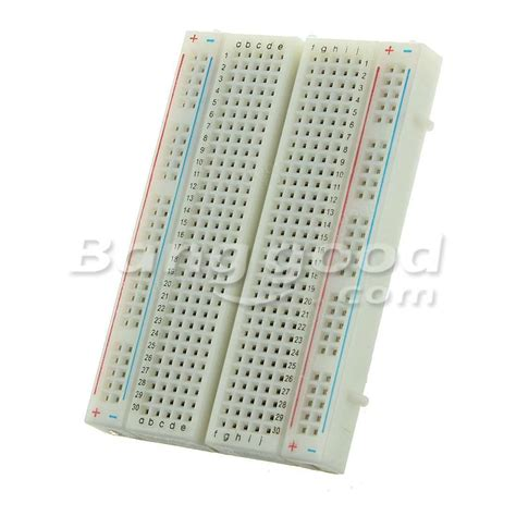 Mini Breadboard 400 Point mini circuit experiment solderless breadboard 400 tie