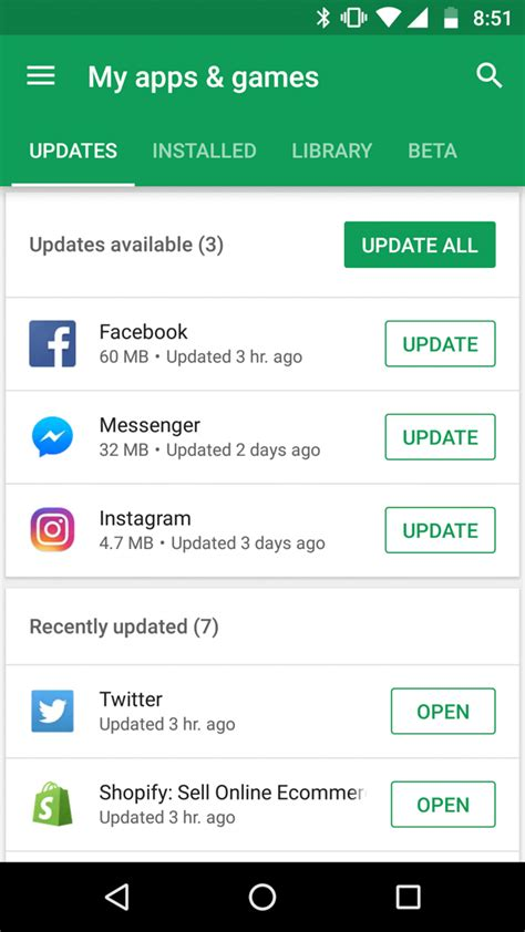 Play Store My Apps Fully Reved My Apps Play Section Seems