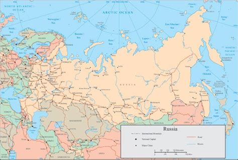 russia map river russia vector map