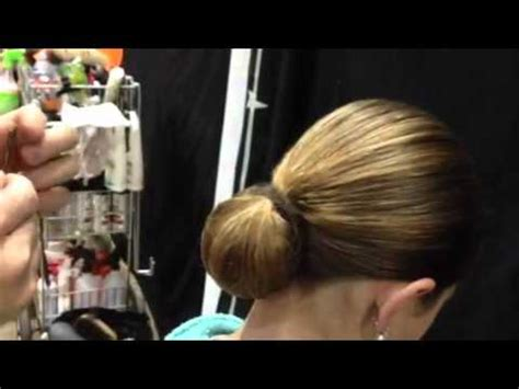 show the hair style daily motion tph horse show bun demo youtube