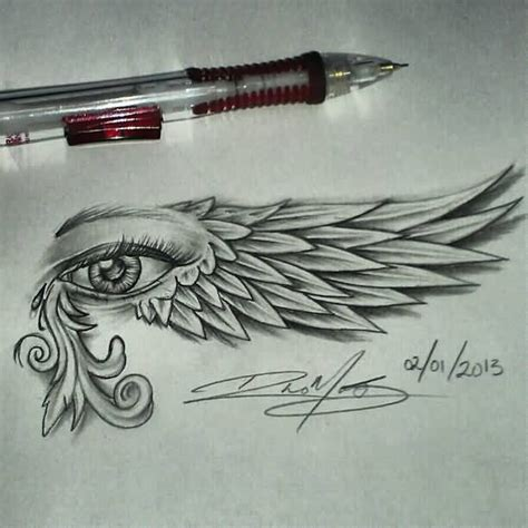 tattoo eye with wings 45 latest horus eye tattoo designs