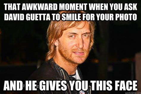 Skrillex Bee Meme - that awkward moment when you ask david guetta to smile for