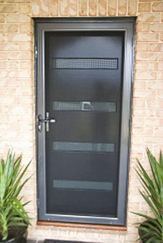panther security screen door stainless steel mesh ebay