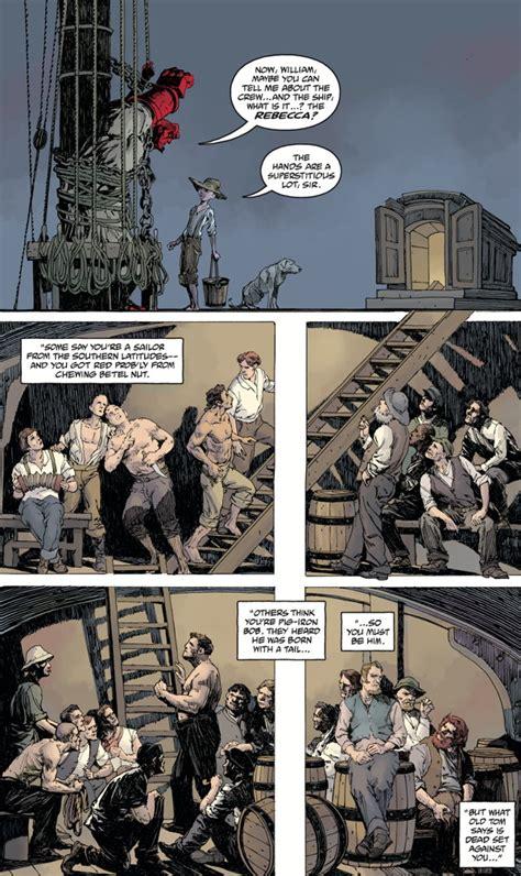 hellboy into the silent hellboy into the silent sea comic review impulse gamer