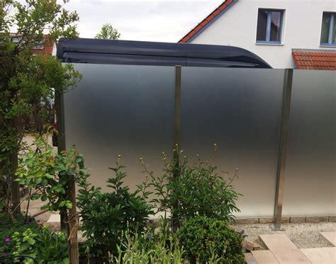 Terrasse Sichtschutz Glas by Glaszaun F 252 R Garten Und Terrasse Glasprofi24