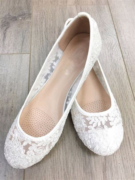 Best 25  Lace wedding flats ideas on Pinterest