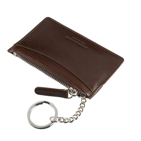 byron brown 13032 milgcckp card holder key pouch luxury