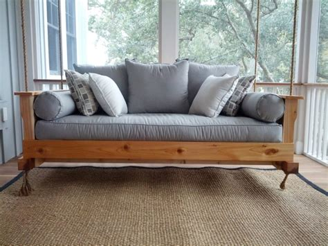 outdoor swing couch outdoor porch beds that will make nature naps worth it