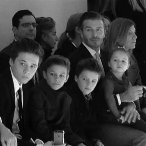 Ralph Exploits Beckham Children by Beckham Family 2014 Www Pixshark Images Galleries