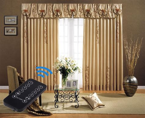 motorized curtains 5 meter 197 quot remote control electric curtain tracks