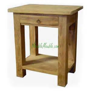 small end table with drawer and shelf chestnut images