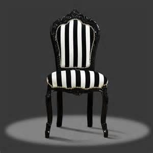 barock stuhl barock deluxe m 246 bel barock stuhl schwarz weiss