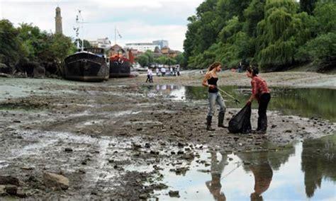thames river clean up waterborne diseases