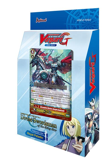 cardfight vanguard card template front and back g trial deck 2 swordsman of the shiny