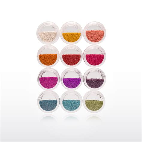 Beading Caviar caviar 12 colours