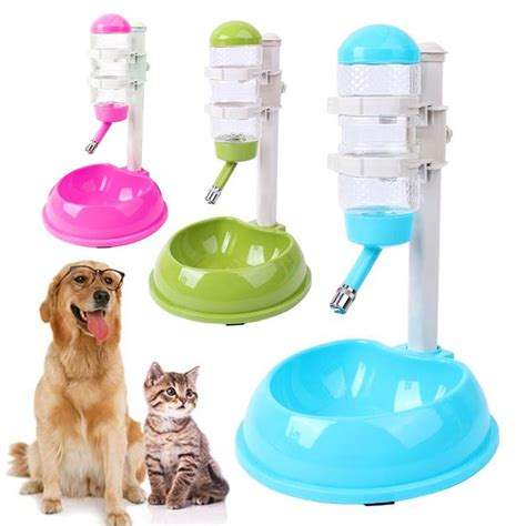 Water Dispenser For Cats automatic pet water dispenser and food bowl free