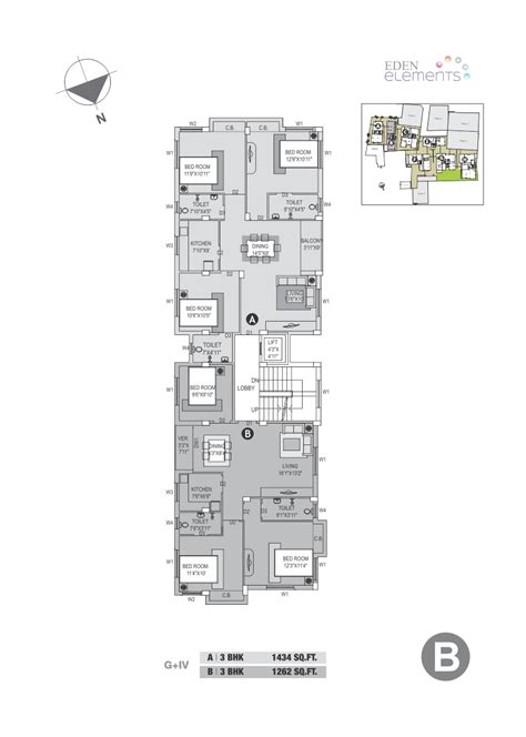 floor plan elements eden elements real estate company in kolkata