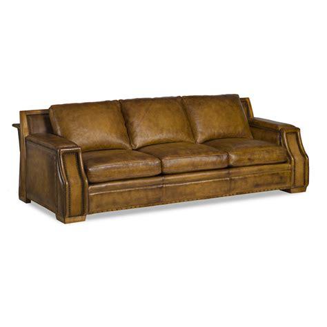 hancock and leather sofa hancock and 6118 3 reunion sofa discount furniture