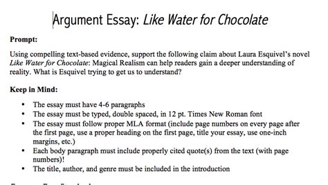 Chocolate Essay by Ms Naylor S Website Senior
