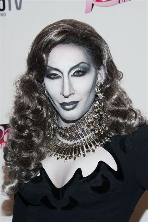 Detox Rupaul by This Is Not A Black White Photo Monochromatic Makeup