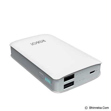 Power Bank Charger Murah jual robot powerbank 6000mah rt 6000 murah bhinneka