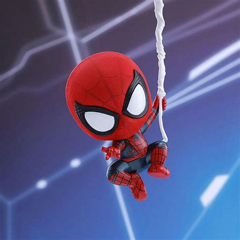 web swinging spider man hot toys spider man web swinging cosbaby s bobble head