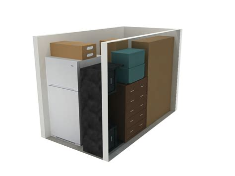 Trashionista Recommends The Self Shelf by Self Storage Ideas With 5x10 Storage Units And Furniture
