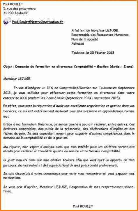 Exemple De Lettre De Motivation Bts En Alternance 4 Lettre De Motivation Alternance Bts Muc Exemple Lettres