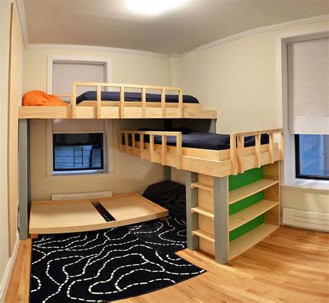 3 Level Bunk Bed 17 Best Ideas About Bunk Beds On Pinterest Bunk 3 Bunk Beds And Closet Bed