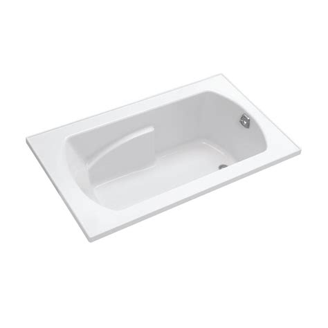 5 foot whirlpool bathtub sterling lawson 5 ft whirlpool tub in white 76271110 0