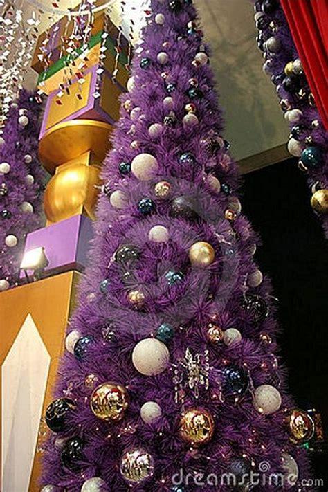 purple christmas tree oh christmas tree pinterest