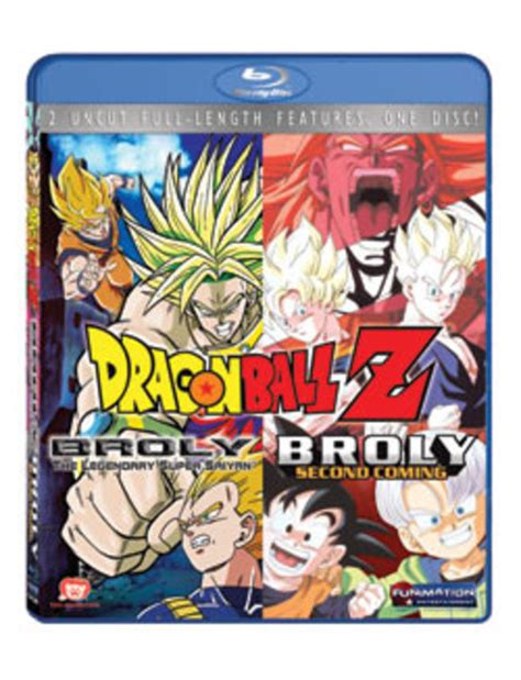 film dragon ball z blu ray dragon ball z movie broly double feature blu ray movies 8 10