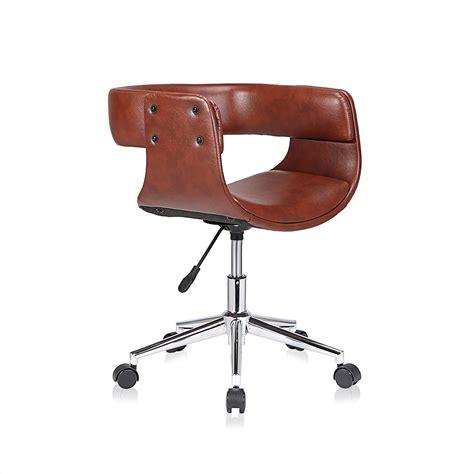sedie retro sedia retro vintage design girevole ecopelle ruote