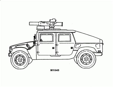 Army Truck Coloring Pages coloring pages coloring pages free and printable