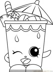 sipper shopkins coloring free shopkins coloring pages coloringpages101