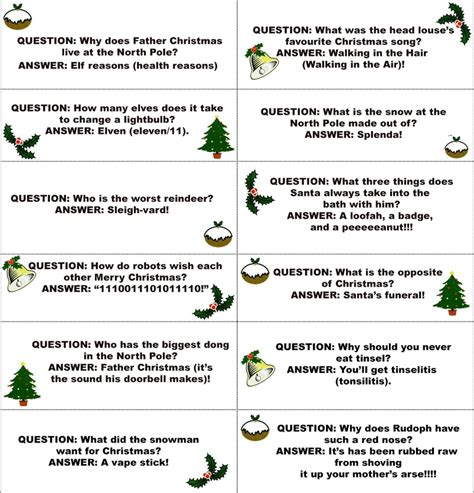 christmas cracker jokes to print the s s cracker jokes