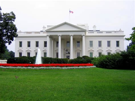 where is the white house white house view of the white house from the side facing l flickr