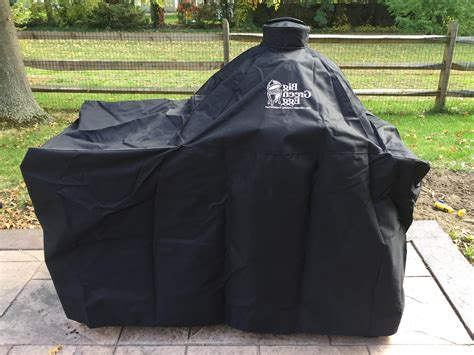 Big Green Egg Table Cover With Table Table Covers Depot