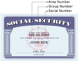Do The Digits In My Social Security Number Represent Anything In Particular Howstuffworks Social Security Card Template Generator