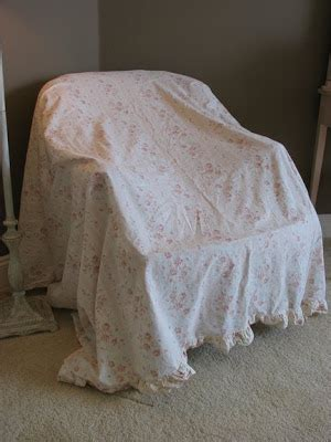 how to cover a couch with a sheet the silly bear a make over 1 chair 1 sheet 2