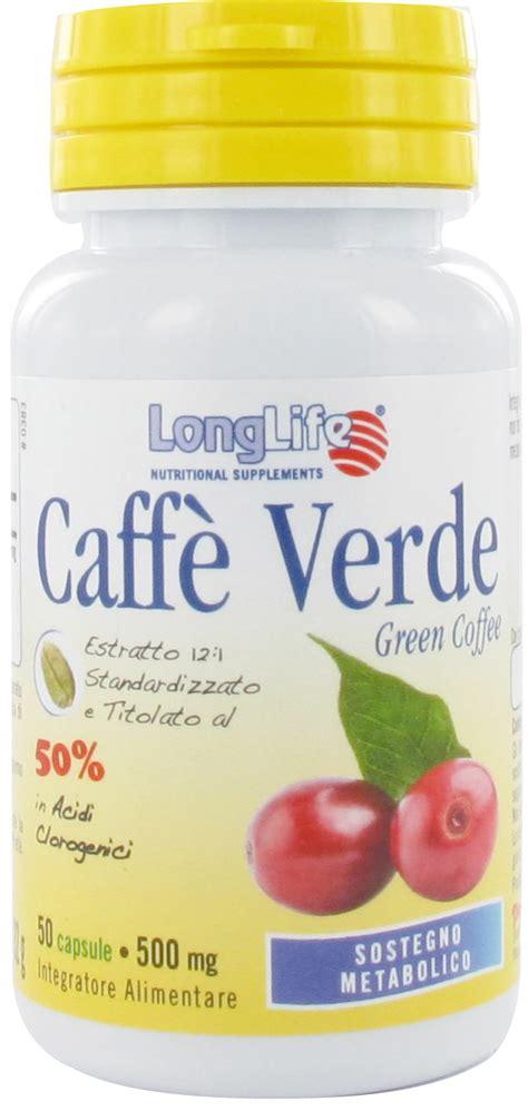 alimenti con acido clorogenico caff 232 verde al 50 in acidi clorogenici medicina integrata