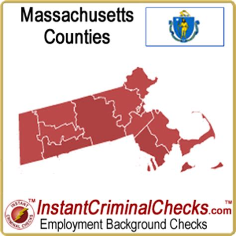 Massachusetts Criminal Background Check Massachusetts County Criminal Background Checks Ma