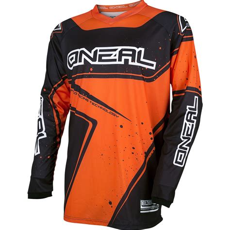 youth motocross jersey oneal element 2017 racewear youth motocross jersey mx
