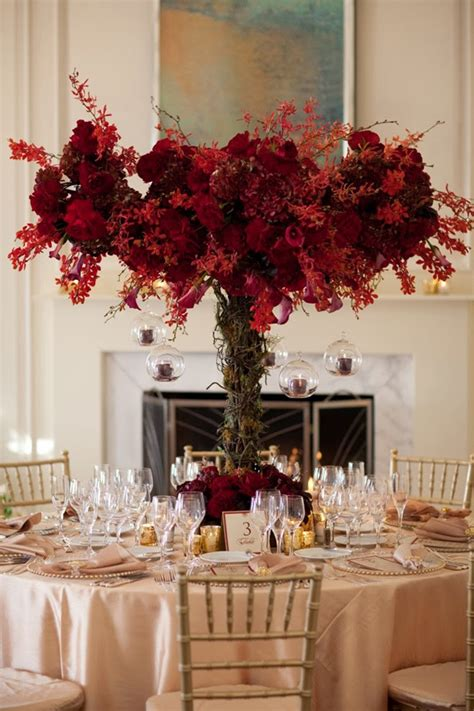 12 Fabulous Centerpieces For Fall Weddings Belle The Wedding Fall Centerpieces