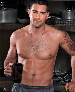 David Banister Jesse Metcalfe Shirtless For Men S Fitness May Issue